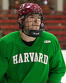 Brian Hart (Harvard - 39) - The Harvard University Crimson practiced on Friday, October 22, 2013, at Bright-Landry Hockey Center in Cambridge, Massachusetts.