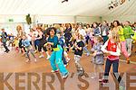 Linda Flanagan traching Zumba Dancing at Feile na Bláth at Tralee town park on Saturday