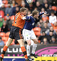 23/02/2008    Copyright Pic: James Stewart.File Name : sct_jspa07_dundeee_utd_v_falkirk.LEE WILKIE GOES IN TO THE BACK OF BILLY CLARKE.James Stewart Photo Agency 19 Carronlea Drive, Falkirk. FK2 8DN      Vat Reg No. 607 6932 25.Studio      : +44 (0)1324 611191 .Mobile      : +44 (0)7721 416997.E-mail  :  jim@jspa.co.uk.If you require further information then contact Jim Stewart on any of the numbers above........