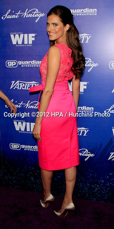 LOS ANGELES - SEP 21:  Allison Williams arrives at the Variety and Women in Film Pre-Emmy Event at Scarpetta on September 21, 2012 in Beverly Hills, CA