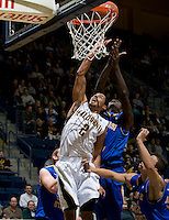 Jorge Gutierrez of California shoots the ball during the game against SJSU at Haas Pavilion in Berkeley, California on December 7th, 2011.   California defeated San Jose State, 81-62.