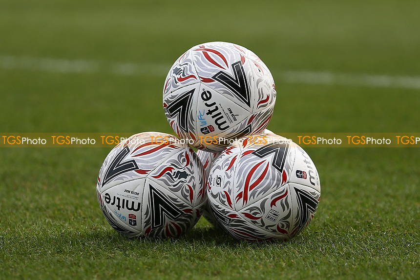 Match balls ahead of Woking vs Watford, Emirates FA Cup Football at The Laithwaite Community Stadium on 6th January 2019