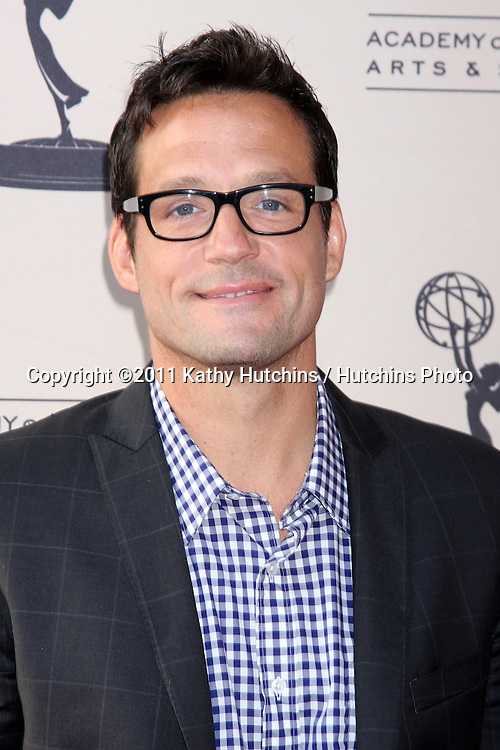 """LOS ANGELES - APR 20:  Josh Hopkins arriving at """"An Evening With Cougar Town"""" at Academy of Television Arts and Sciences on April 20, 2011 in No. Hollywood, CA.."""