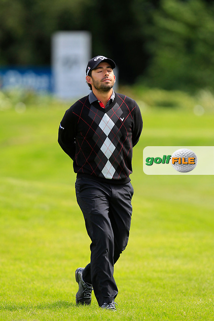 Pablo Larrazabal (ESP) on the 17th during Wednesday's Pro-Am round of the Dubai Duty Free Irish Open presented  by the Rory Foundation at The K Club, Straffan, Co. Kildare<br /> Picture: Golffile | Thos Caffrey<br /> <br /> All photo usage must carry mandatory copyright credit <br /> (&copy; Golffile | Thos Caffrey)