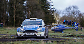 10th February 2019, Galway, Ireland; Galway International Rally; Craig Breen and Paul Nagle (Ford Fiesta R5) win the rally by 14.4 seconds from Alastair Fisher and Gordon Noble (Ford Fiesta R5)