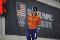 SPEEDSKATING: SALT LAKE CITY: 07-12-2017, Utah Olympic Oval, training ISU World Cup, Erik Jan Kooiman (NED), ©photo Martin de Jong