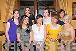 25th Birthday Party: Mary O'Brien, Listowel celebrating her 25th birthday with friends at Casa Mia's Restaurant, Listowel on Saturday night last. Front: Laura O'Carroll, Mary O'Brien, Stephanie Keane-Stack &Pamela Brassil. Back : Sharon Laekin, Lorraine Henchy, Fiona Walsh & Mary O'Connor.