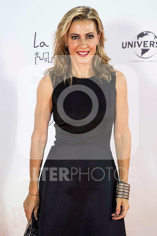 "Angeles Blanco during the premiere of the spanish film ""Un Monstruo Viene a Verme"" of J.A. Bayona at Teatro Real in Madrid. September 26, 2016. (ALTERPHOTOS/Borja B.Hojas)"