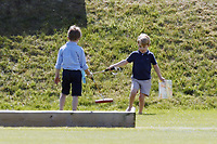 Polo at Badminton<br /> Prince George<br /> at The Beaufort Polo Club, Tilbury, Gloucestershire, England on June 10, 2018.<br /> CAP/GOL<br /> &copy;GOL/Capital Pictures