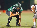 Torrance, CA 10/09/15 - Brice Vanness (South #77) in action during the Torrance vs South High varsity football game.  South defeated Torrance 24-21.