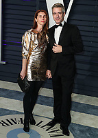 BEVERLY HILLS, CA - FEBRUARY 24: Tharita Cesaroni, Dermot Mulroney at the 2019 Vanity Fair Oscar Party at the Wallis Annenberg Center for the Performing Arts on February 24, 2019 in Beverly Hills, California. (Photo by Xavier Collin/PictureGroup)