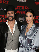 LOS ANGELES, CA - DECEMBER 9: Guests, at Premiere Of Disney Pictures And Lucasfilm's 'Star Wars: The Last Jedi' at Shrine Auditorium in Los Angeles, California on December 9, 2017. Credit: Faye Sadou/MediaPunch /NortePhoto.com NORTEPHOTOMEXICO