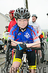 At the Currow Annual cycle on Sunday was Michael Roche