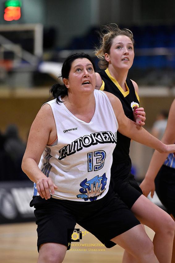 Susan Reed-Thomas in action during the WBC - Te Tai Takerau Pheonix v Taranaki Thunder at Te Rauparaha Arena, Porirua, New Zealand on Friday 5 June 2015.<br /> Photo by Masanori Udagawa. <br /> www.photowellington.photoshelter.com.