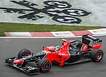 Marussia F1 Team driver Timo Glock of Germany speeds his MR-01 car during the F1 Grand Prix du Canada at the Circuit Gilles-Villeneuve on June 08, 2012 in Montreal, Canada. Photo by Victor Fraile / The Power of Sport Images
