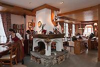 Europe/Suisse/Saanenland/Gstaad: Restaurant: Le Bagatelle, au Grand Chalet
