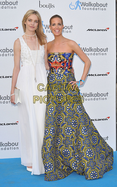 LONDON, ENGLAND - JUNE 27: Natalia Vodianova &amp; Carolina Gonzalez Bunster attend the Walkabout Foundation's Inaugural Gala, Natural History Museum, Cromwell Rd., on Saturday June 27, 2015 in London, England, UK. <br /> CAP/CAN<br /> &copy;Can Nguyen/Capital Pictures
