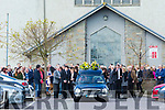 Funeral of Anthony O'Mahony at St Peter and St Paul Church Ballyduff on Friday