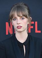 "28 June 2019 - Santa Monica, California - Maya Hawke. ""Stranger Things 3"" LA Premiere held at Santa Monica High School. <br /> CAP/ADM/BT<br /> ©BT/ADM/Capital Pictures"