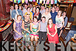 Margaret Cooper, Ferndale Avenue, Killarney, pictured with her husband Kenneth O'Sullivan, family and friends as she celebrated her 40th birthday in the Killarney Avenue Hotel on Saturday night.....................