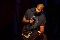 LAS VEGAS, NV - September 4, 2017: ***HOUSE COVERAGE*** Dave Chappelle performs at Kevin Hart HartBeat Weekend at The Chelsea at The Cosmopolitan of Las Vegas in Las vegas, NV on September 4, 2017. Credit: GDP Photos/ MediaPunch