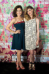 Toni Acosta and Manuela Velasco attend the presentation of the new proposal of MAC´s make-up at COAM, Madrid, Spain. June 11, 2015.<br />