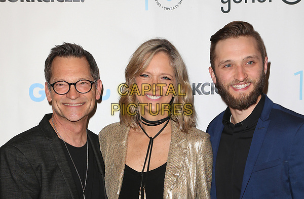 BEVERLY HILLS, CA - March 21: Philip Wagner, Holly Wagner, Jordan Wagner, At Generosity.org Fundraiser For World Water Day At Montage Hotel In California on March 21, 2017. <br /> CAP/MPI/FS<br /> &copy;FS/MPI/Capital Pictures