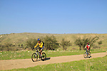 Israel, Lower Galilee, cycling in Nahal Tavor