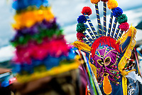 "A man dancer in a colorful costume dances during the celebration of Inti Raymi in Pichincha province, Ecuador, 26 June 2010. Inti Raymi, ""Festival of the Sun"" in Quechua language, is an ancient spiritual ceremony held in the Indian regions of the Andes, mainly in Ecuador and Peru. The lively celebration, set by the winter solstice, goes on for various days. The highland Indians, wearing beautiful costumes, dance, drink and sing with no rest. Colorful processions in honor of the God Inti (Sun) pass through the mountain villages giving thanks for the harvest and expressing their deep relation to the Mother Earth (Pachamama)."