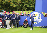 23 Sept 14  Rickie Fowler during the Tuesday Practice Round at The Ryder Cup at The Gleneagles Hotel in Perthshire, Scotland. (photo credit : kenneth e. dennis/kendennisphoto.com)
