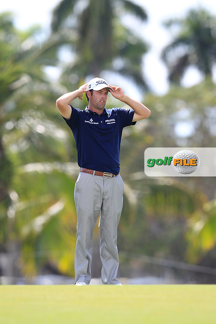 Robert Streb (USA) during the 2nd round at the WGC Cadillac Championship, Blue Monster, Trump National Doral, Doral, Florida, USA<br /> Picture: Fran Caffrey / Golffile