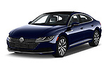 2019 Volkswagen Arteon SEL 5 Door Hatchback angular front stock photos of front three quarter view