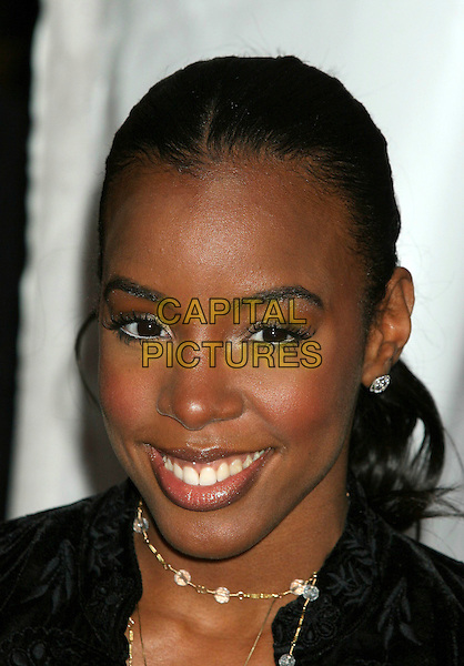 "KELLY ROWLAND.""The Pink Panther"" US film premiere at the Ziegfeld Theater, New York, NY, USA..February 6th, 2006.Ref: IW.headshot portrait white eyeliner.www.capitalpictures.com.sales@capitalpictures.com.©Capital Pictures"