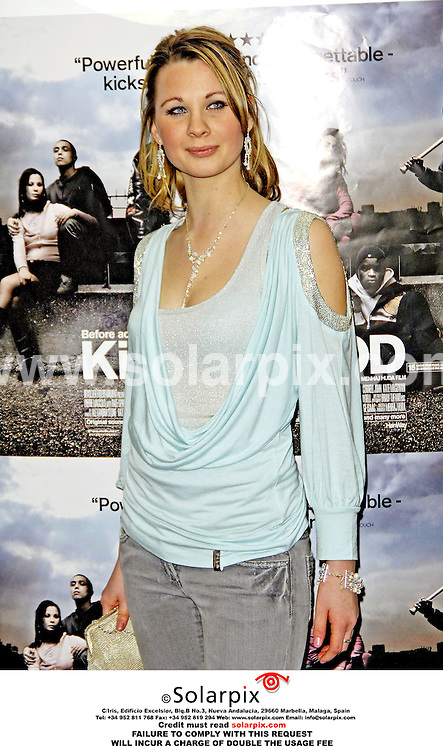 ALL ROUND PICTURES FROM SOLARPIX.COM..The young talented cast of Kidulthood arrive for the UK premiere in London's West End on 01.03.06. The event was also attended by famous teenager Peaches Geldof and respected actor Christopher Fairbank.  Job Ref: 2157/MSR..This pic: Madeleine Fairley.MUST CREDIT SOLARPIX.COM OR DOUBLE FEE WILL BE CHARGED.