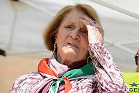 Roma, 25 Aprile 2018<br /> La staffetta partigiana Tina Costa.<br /> 73&deg; Anniversario della Liberazione dal Nazi fascismo<br /> Corteo fino a Porta San Paolo