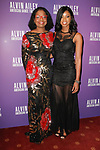 """Paulette Bradnock and daugther arrive at the Alvin Ailey American Dance Theater """"Modern American Songbook"""" opening night gala benefit at the New York City Center on November 29, 2017."""