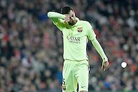 FC Barcelona's Sergio Busquets during La Liga match.February 8,2015. (ALTERPHOTOS/Acero) /NORTEphoto.com