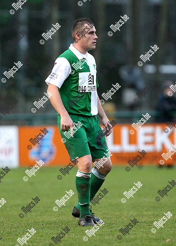 2009-11-29 / Voetbal / seizoen 2009-2010 / KSK Heist - Racing Mechelen / Kevin Borlee..foto: mpics