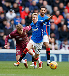 16.02.2019 Rangers v St Johnstone:  Ross McCrorie and David Wotherspoon