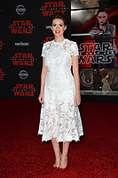 Carly Steel at the world premiere for &quot;Star Wars: The Last Jedi&quot; at the Shrine Auditorium. Los Angeles, USA 09 December  2017<br /> Picture: Paul Smith/Featureflash/SilverHub 0208 004 5359 sales@silverhubmedia.com