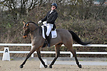 Class 10. British dressage. Brook Farm Training Centre. Essex. UK. 02/03/2019. ~ MANDATORY Credit Garry Bowden/Sportinpictures - NO UNAUTHORISED USE - 07837 394578