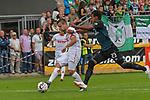 20.07.2018, Zillertalarena, Zell am Ziller, AUT, FSP, 1.FBL, SV Werder Bremen (GER) vs 1. FC Koeln (GER), im Bild<br /> Louis Schaub (Neuzugang Koeln #13)<br /> Theodor Gebre Selassie (Werder Bremen #23)<br /> <br /> Foto © nordphoto / Kokenge