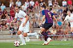 FC Barcelona vs Montpellier HSC: 1-2.<br /> Anouk Dekker vs Melanie Serrano.