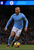 3rd December 2017, Etihad Stadium, Manchester, England; EPL Premier League football, Manchester City versus West Ham United; David Silva of Manchester City  with the ball
