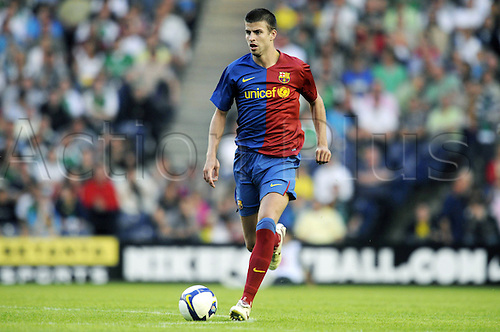 24 07 2008  Gerard Pique FC Barcelona