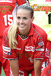2 August 2003: Heather Mitts. The Philadelphia Charge defeated the Atlanta Beat 3-0 at Villanova Stadium in Villanova, PA in a regular season WUSA game.
