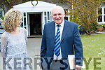 Justine McCarthy and Bertie Ahern at the Women in Media event, in Ballybunion on Sunday last.