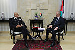 Palestinian Prime Minister, Rami Hamdallah, meets with Italian police delegation, in the West Bank city of Ramallah, on May 24, 2017. Photo by Prime Minister Office