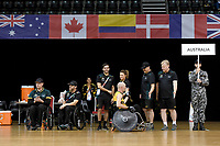 Jason Lees (AUS) vs GB<br /> Australian Wheelchair Rugby Team<br /> 2018 IWRF WheelChair Rugby <br /> World Championship / Semi Finals<br /> Sydney  NSW Australia<br /> Thursday 9th August 2018<br /> © Sport the library / Jeff Crow / APC