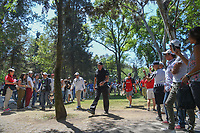 Phil Mickelson (USA) approaches the third tee during round 4 of the World Golf Championships, Mexico, Club De Golf Chapultepec, Mexico City, Mexico. 3/4/2018.<br /> Picture: Golffile | Ken Murray<br /> <br /> <br /> All photo usage must carry mandatory copyright credit (&copy; Golffile | Ken Murray)